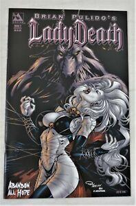 Lady Death Abandon All Hope #2 Commemorative Ron Adrian LTD to 1500 Avatar NM