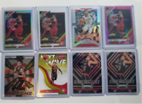 Trae Young 8 Card Lot, Optic Silver, Hyper Pink, Optic base, Panini Silver Prizm