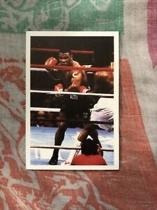 1987 question of sport Boxing Card Mike Tyson World Champion HOF Nr Mint Rookie