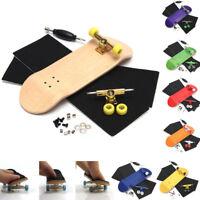 Finger Doigt Fingerboard en Bois Skate Board Professionnel Jouet Skateboard