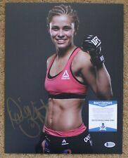 Paige Vanzant signed 11x14 Photo BAS D53950