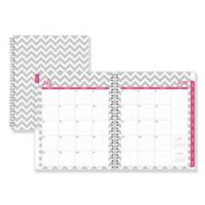 Blue Sky 100287 Dabney Lee Ollie Academic Weekly/monthly Planner, Gray Chevron,