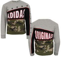 Adidas Originals Boys Juinors FR Crew Sweatshirt Pullover Jumper S96027 M14