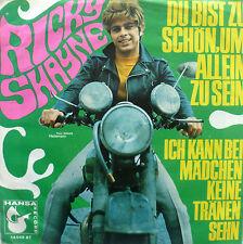 """7"""" 1968 VG+! RICKY SHAYNE Du bist zu schön um allein zu sein"""