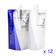 Shiseido Crystallizing Straight Fine or Tinted Hair N1+2  Lots of 12 Wholesale
