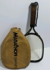 Vintage Ektelon Marathon Graphite Racquetball Racquet With Cover Small Grip