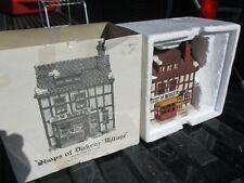 Vintage Retired Rare Golden Swan Baker The Original Shops of Dicken'S Village