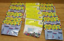 Lot of 15 Girls Beaded Hair Barrette Making Kits Kids' Beading Crafts Pony Beads