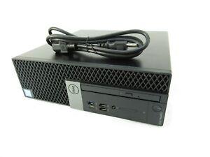 Dell Optiplex 7070 SFF Intel Core i5-9500 @ 3.00GHz 8GB RAM 512GB SSD DVD-RW