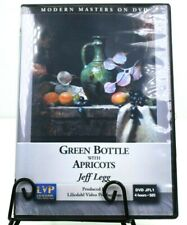 Jeff Legg: Green Bottle with Apricots ,Art Instruction  Modern Masters on DVD