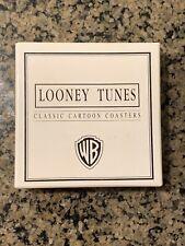 6 Warner Brothers Looney Tunes Coasters 1993 Collectibles Classic Cartoon Scenes