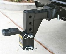 Adjustable Hitch Tow Ball Mount Receiver Carry Towing Truck Car Inch Drop Reese