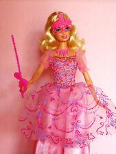 NUOVA Barbie le tre 3 MOSCHETTIERE Corinne con collana, maschera e abito!
