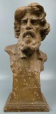 Terracotta Bust of a Man Adorjan Horvath (Hungarian b. 1874) Sculpture Gyor Raab