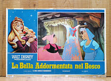 LA BELLA ADDORMENTATA NEL BOSCO fotobusta poster affiche Walt Disney 1959 AK43