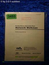 Sony Bedienungsanleitung NW MS70D /MS90D /MS77DR Network Walkman (#3453)