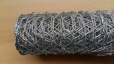 Galvanised Hexagonal Mesh Wire Ideal for Garden Fencing 5mx0.9mx25mm Value!