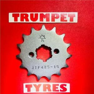 SUZUKI RV125 03 - 16 FRONT SPROCKET 15 TOOTH 428 PITCH JTF425.15