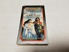 War of the Twins by Tracy Hickman and Margaret Weis SC 1st/1st SIGNED