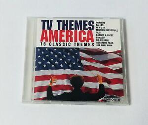 TV Themes America - Dallas Mash Taxi Dynasty Dr Kildare Rockford Files music cd