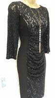 Lace Bodycon Dress by Phase Eight-Size 10 - Evening/Cocktail/Party-Ex Condition