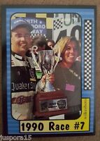 Maxx Collection Race Cards 1991 1990 Race No 7 North Wilkesboro Card 176 of 240