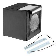 Square Perfect 16 Inch LED Photo Studio In A Box w/4 Color Backdrops Pro Quality