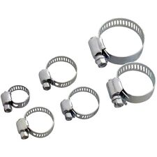 "6pc Set Jubilee Hose Clip Clamps 1/2"" 3/4"" 1"" Garden Home Gardening DIY- Amtech"