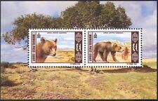 Mongolia Wild Animal Postal Stamps