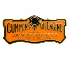 Cummins hat pin lapel dodge decal plaque diesel badge truck oil engine logo