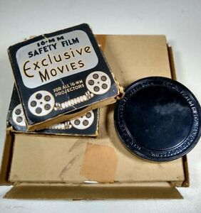 4 LOT VTG 1920s 16mm Buster Keaton The Police Mutt & Jeff Haunted House +2 Reels