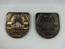 1995 Indianapolis 500 Bronze & Silver Pit Badge Corvette Villenueve Team Green