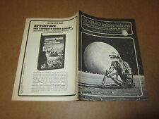 COSMO INFORMATORE FANZINE E CRITICA SUL MONDO DELLA FANTASCIENZA MARZO 1981