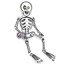 HALLOWEEN PIRATE SITTING SKELETON CLEAR MULTI BALLOON PARTY DECORATION AIR FILL