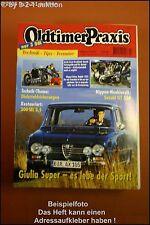 Oldtimer Praxis 2/97 Alfa Giulia Super 300 SEL 3.5