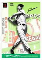 Ted Williams All Eras Sports Project 2020 Inside Out 1955 Custom Card