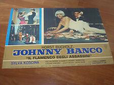 FOTOBUSTA,1967, JOHNNY BANCO H. BUCHOLZ - S.KOSCINA,LAMBRETTA INNOCENTI SCOOTER