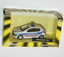 Cararama - Peugeot 206 Police Nationale Die Cast Model Car Scale 1:43