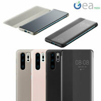 Custodia ORIGINALE HUAWEI Smart View Cover Per P30 PRO Flip con Finestra Libro