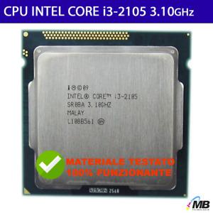 Processore Intel® Core™ i3-2105 3 MB di cache, 3,10 GHz CPU LGA1155 SANDY BRIDGE