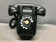 Antique Northern Electric Bakelite Wall Telephone Black Kitchen Phone 7h 8 d