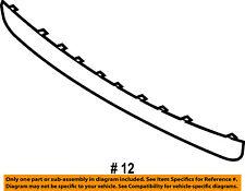 Mercury FORD OEM 08-11 Mariner-Bumper Trim-Molding Trim 8E6Z17232AA