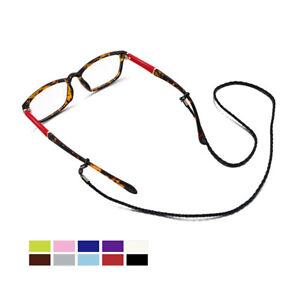 Sunglasses Chain Lanyard Strap Braid Leather Eyeglass Glasses Chain Fashion