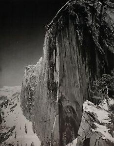 1927/72 ANSEL ADAMS Vintage Monolith Half Dome Yosemite Duotone Photo Art 11X14