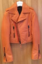 Balenciaga 2010 Clementine Leather Biker Jacket - Size 36, BNWT