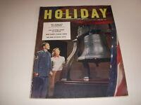 Vintage HOLIDAY Magazine, June, 1951, BEN FRANKLIN'S PHILADELPHIA, FINGER LAKES!