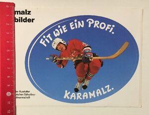 Aufkleber/Sticker: Fit Wie Ein Profi - Karamalz - Eishockey (29041647)