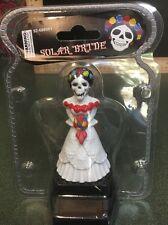 Solar Powered Dancing Skeleton Bride.