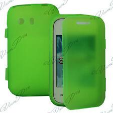 Funda Carcasa Cartera Solapa Tipo libro VERDE Samsung Galaxy Y Neo GT-S5360/