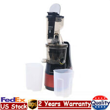 150W 1000ml Slow Masticating Juicer Low Speed Motor Cold Press Extractor 50rpm